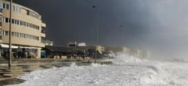 Alerta laranja devido à agitação marítima