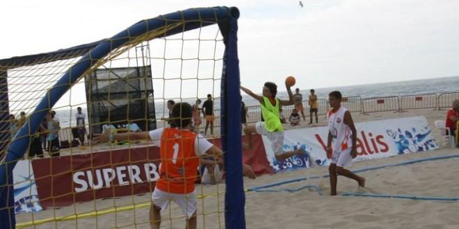 Campeões nacionais de Andebol de Praia encontrados nas areias de Esmoriz