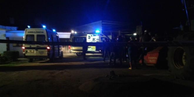 Um morto em acidente numa vacaria em São João