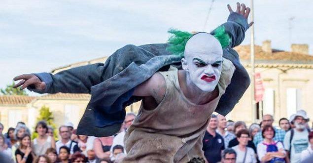 Godot no Festival de Circo do Furadouro em Agosto