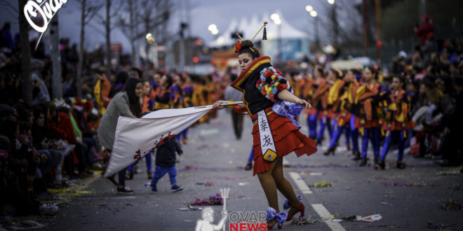 Porta-bandeiras querem valorizar o seu papel no Carnaval