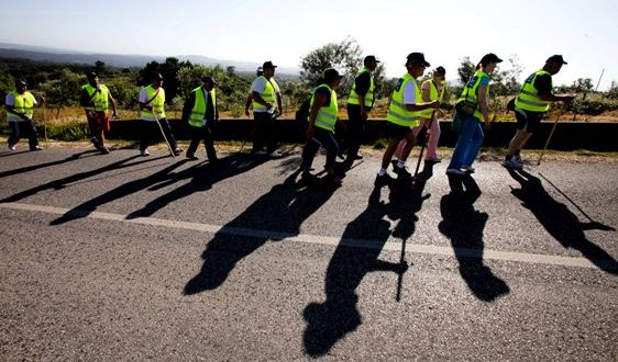 Associação Portuguesa de Podologia ajuda peregrinos a chegar a Fátima