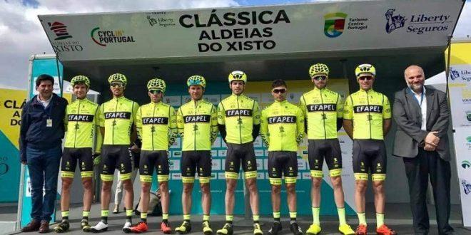 Ciclismo: Efapel termina época como a terceira melhor equipa do ano