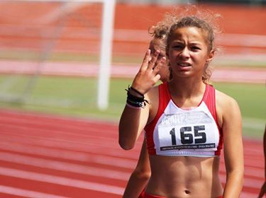 Atletismo: Eva Pais vence na pista de atletismo de Vagos