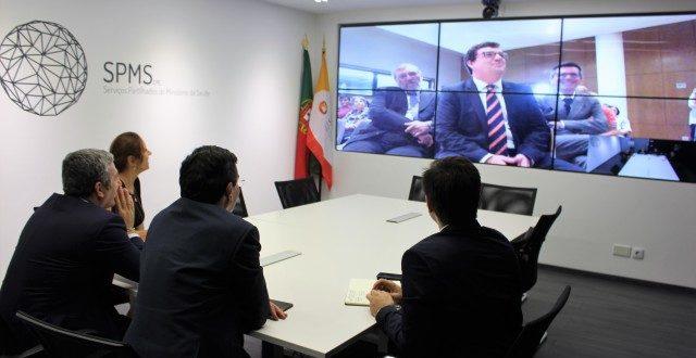 """Ministro da Saúde participa na apresentação do """"Projecto HOSP"""""""
