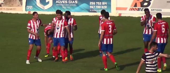 """Futebol: Golo monumental decidiu """"derby"""" concelhio"""