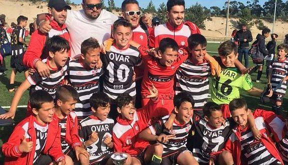 Futebol: Benfica derrotado pelos Benjamins da Ovarense