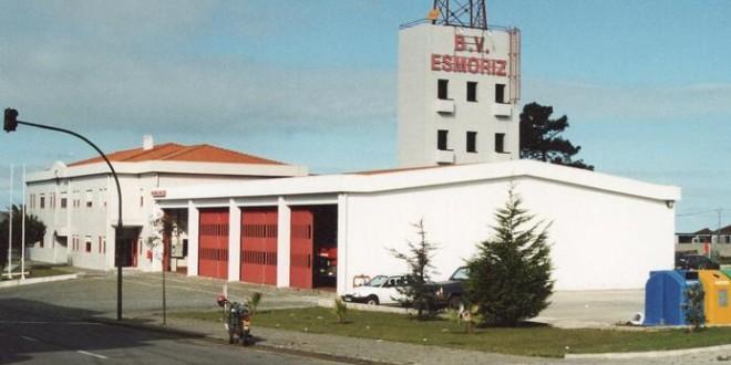 Resultado de imagem para quartel bombeiros voluntários esmoriz